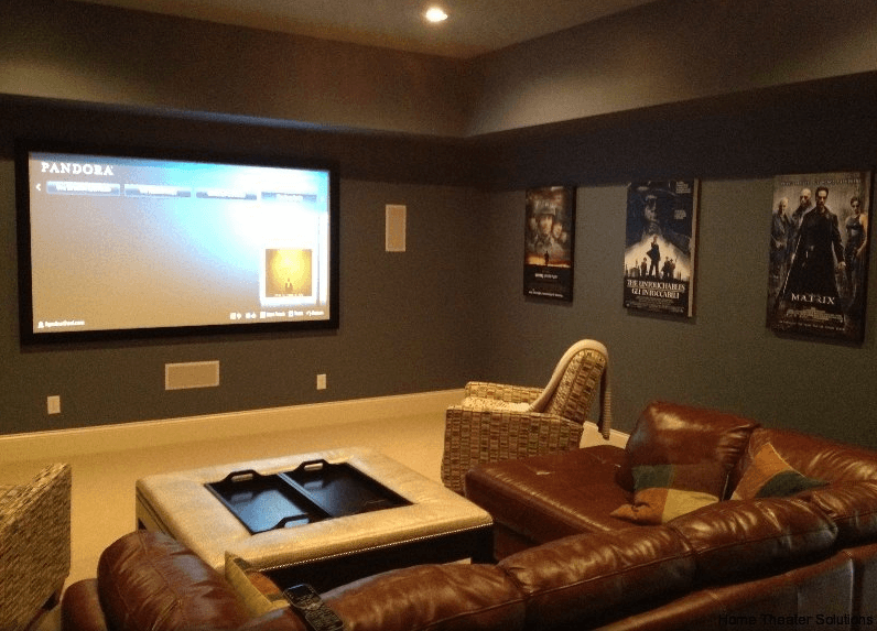 Gentil Home Theater Seating Ideas