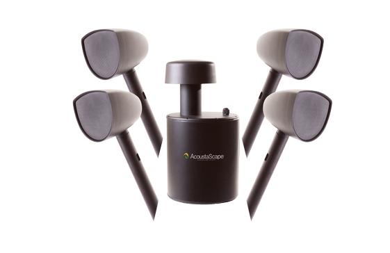 AcoustaScape Landscape Audio System