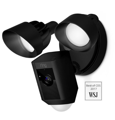 Ring Floodlight Motion-Activated Camera