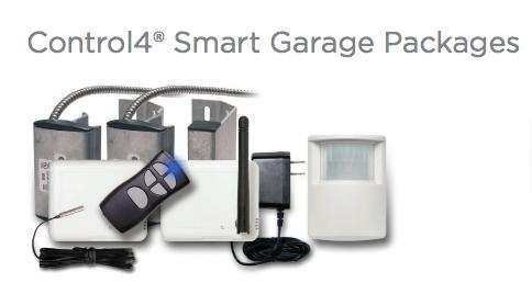 Control4 Smart Garage